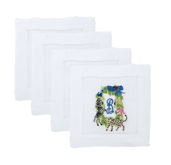 Linen Cocktail Napkins (Set of 4)