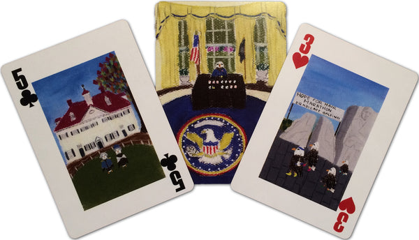 Washington, DC Playing Cards