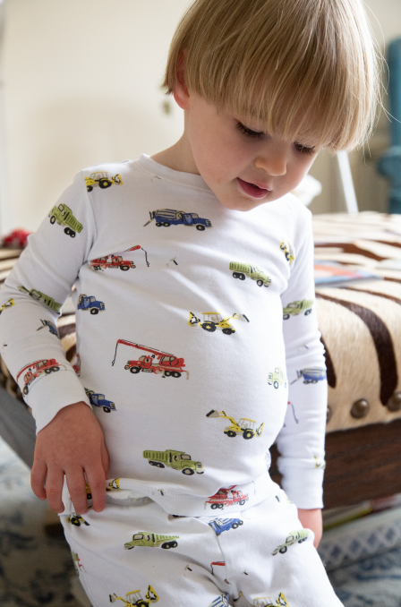 Truck Two Piece Pajama Set