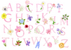 Custom Floral Letter Stationery (set of 25)