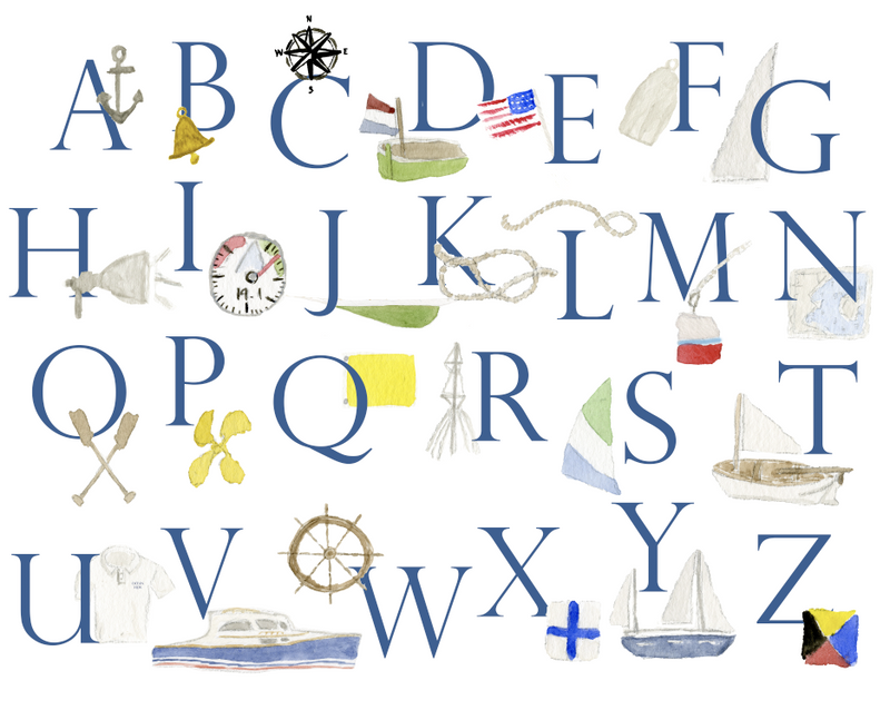 Custom Nautical Stationery (set of 25)