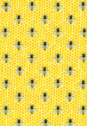 Bumble Bee Gift Wrap (set of 10)