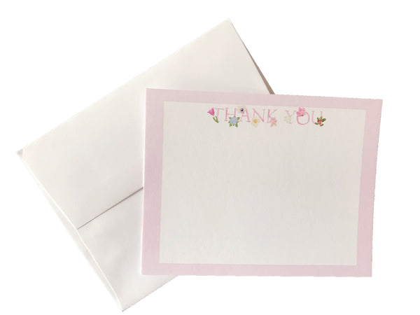 Floral Thank You Note (set of 10)