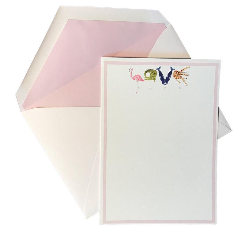 Love letter notecard