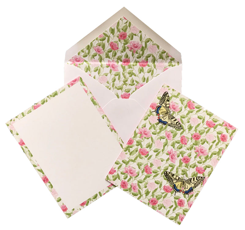 Floral Stationery (Set of 25)