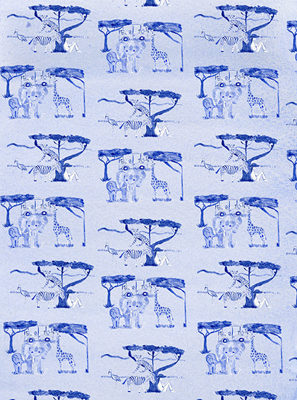 Safari Toile Gift Wrap (set of 10)