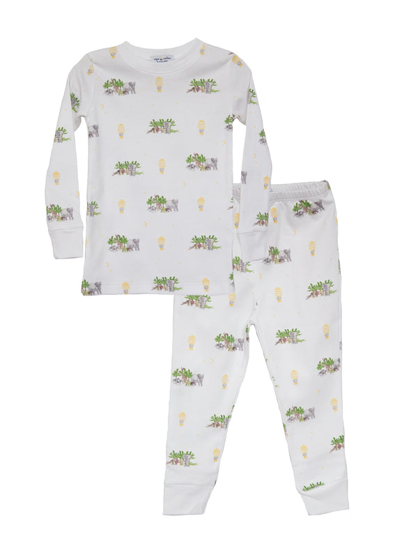 Out of Africa Pima Two Piece Pajama Set