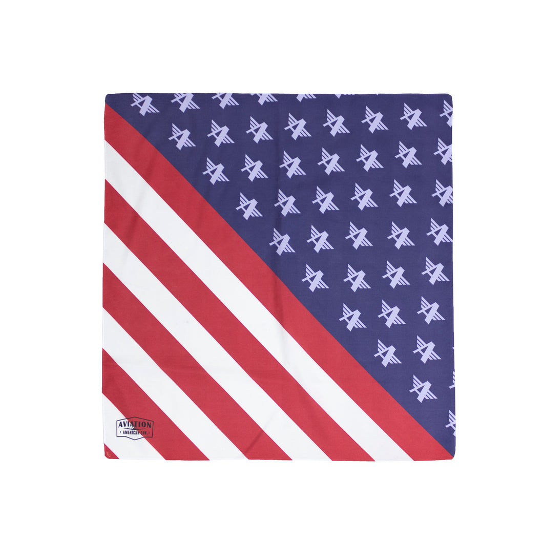 Aviation Flag Bandana