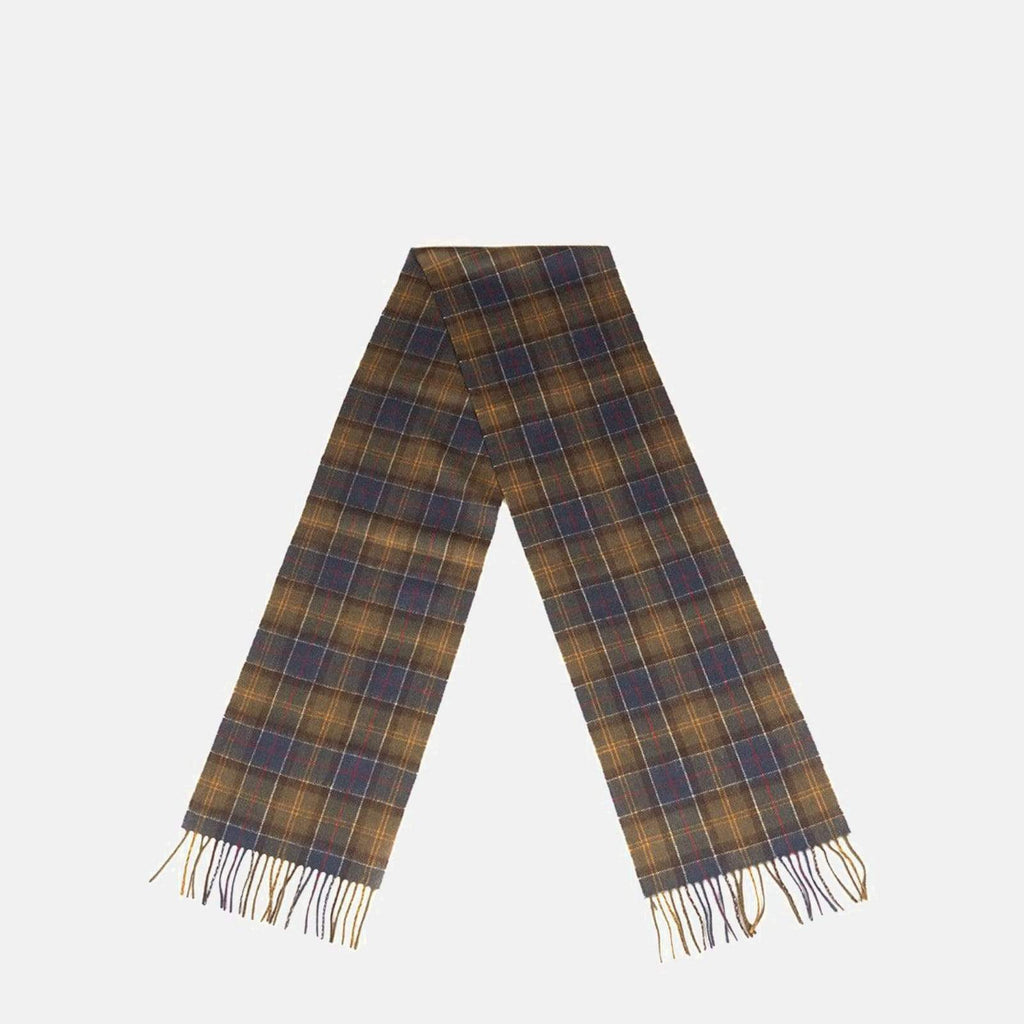 Barbour Accessories One Size / Classic Tartan/Olive Barbour Scarf & Glove Gift Set Classic Tartan/Olive