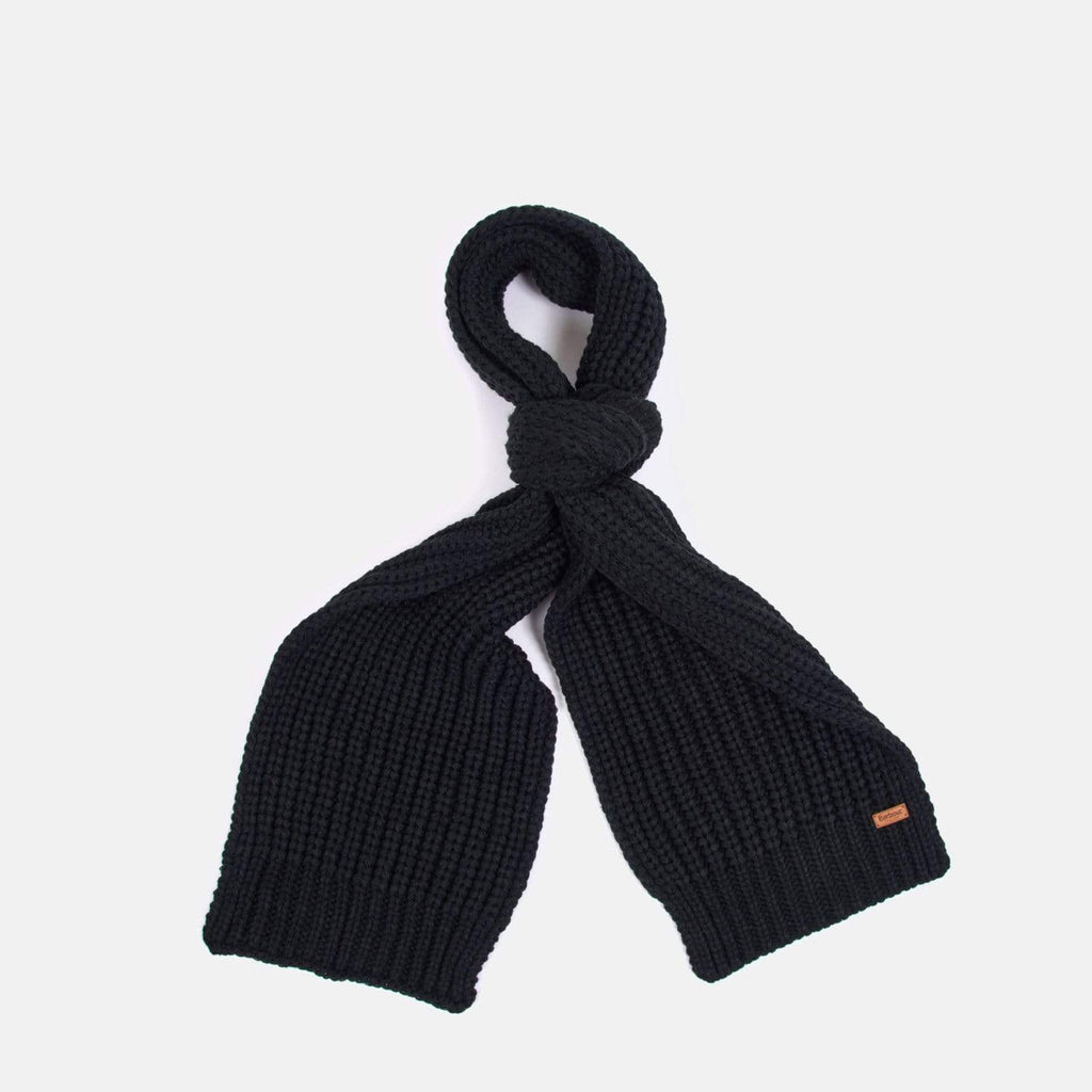 Barbour Accessories One Size / Black Saltburn Scarf & Beanie Set Black