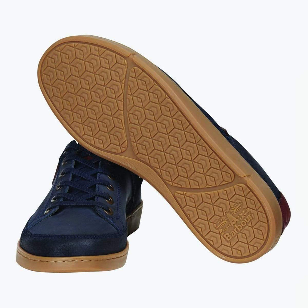 Barbour Footwear Bilby Navy Nubuck