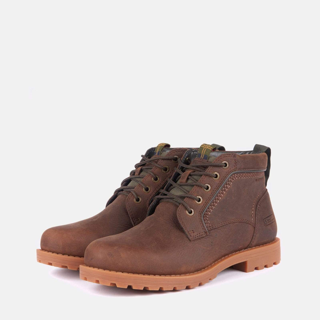 Barbour Footwear Carrock Chukka Dark Brown
