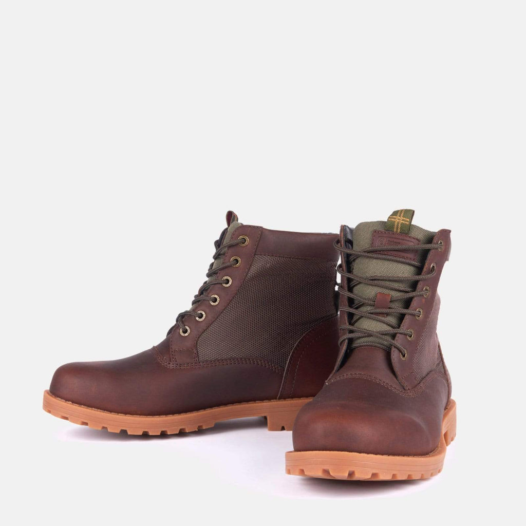 Barbour Footwear Cheviot Derby Umber