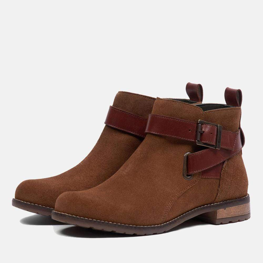 Barbour Footwear Jane Cognac Suede