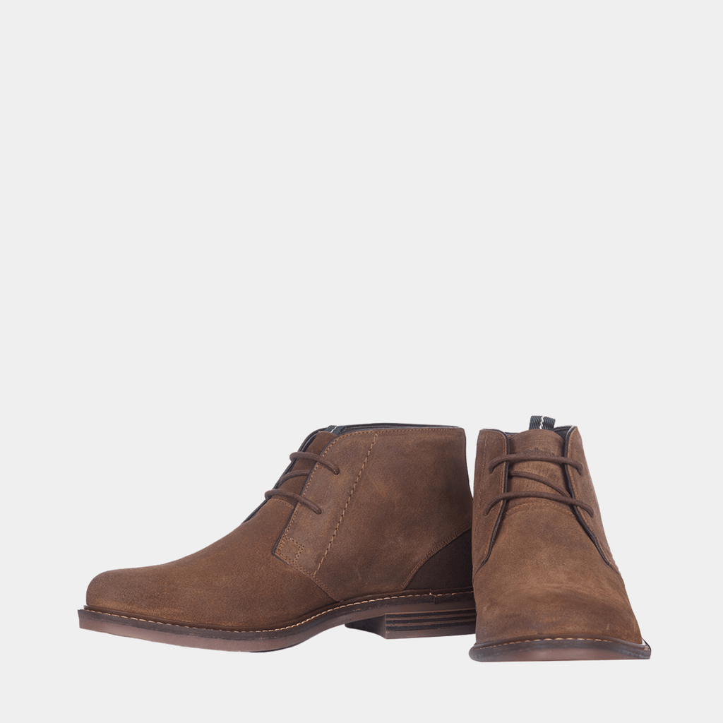 Barbour Footwear MFO0138BR388 Barbour Readhead Brown Suede