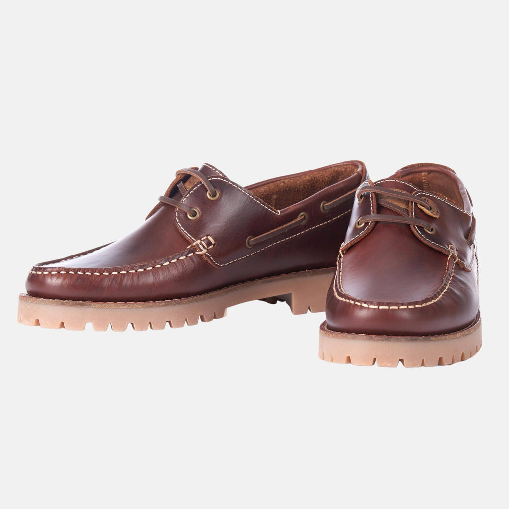 Barbour Footwear Stern MFO0490BR71 Mahogony Leather