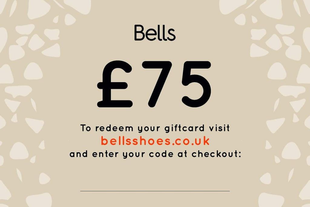 Bells Shoes Gift Card - £75
