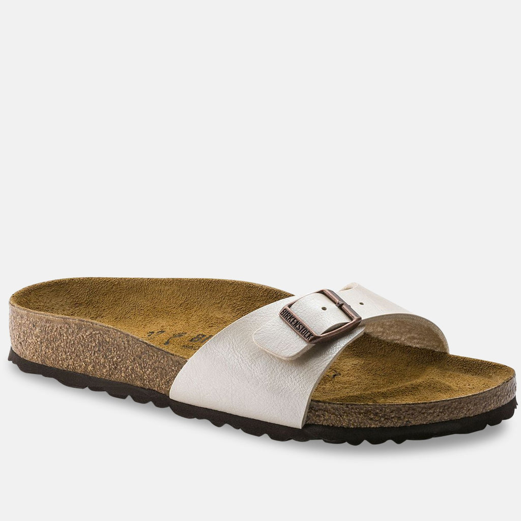 Birkenstock Footwear UK 9 / EU 43 / US 10-10.5 / White 20248406 Madrid Regular Fit - Graceful Pearl White 940151