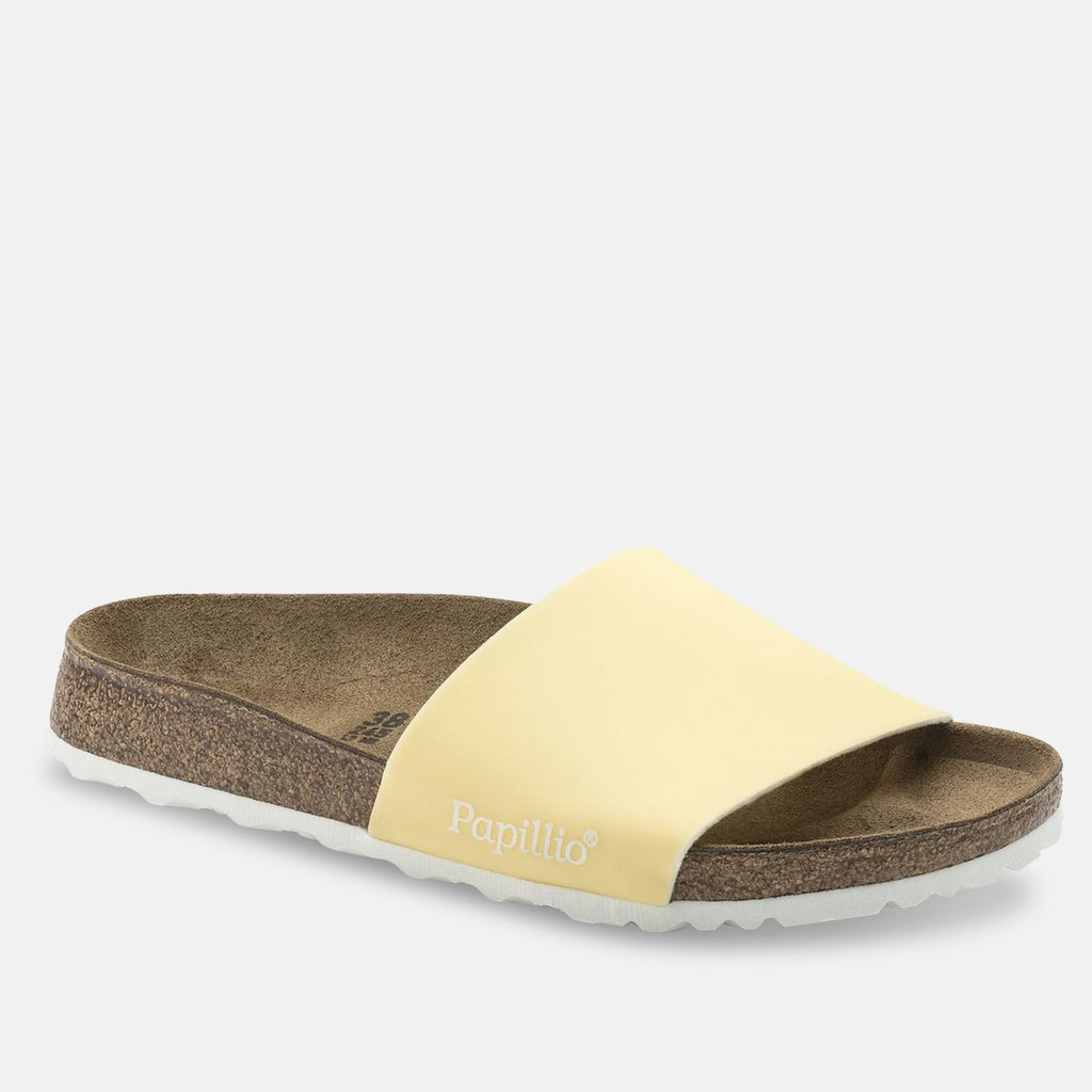 Birkenstock Footwear UK 5 / EU 38 / US 7-7.5 / Yellow 237102 Cora Narrow Fit - Pastel Yellow 1009215