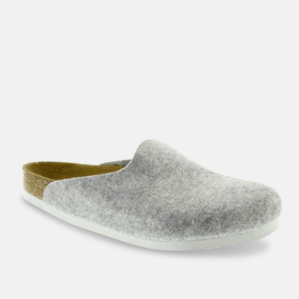 Birkenstock Footwear UK 3.5 / EU 36 / US 5-5.5 / Grey Amsterdam BZ - Light Grey (559113) NARROW MODEL