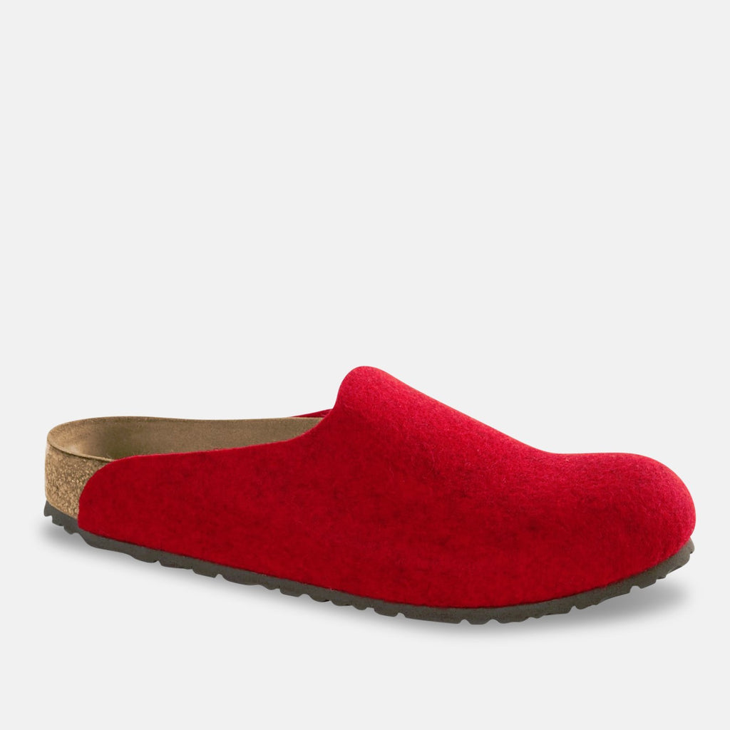 Birkenstock Footwear UK 3.5 / EU 36 / US 5-5.5 / Red Amsterdam WZ Melange - Red (1011748) NARROW WIDTH