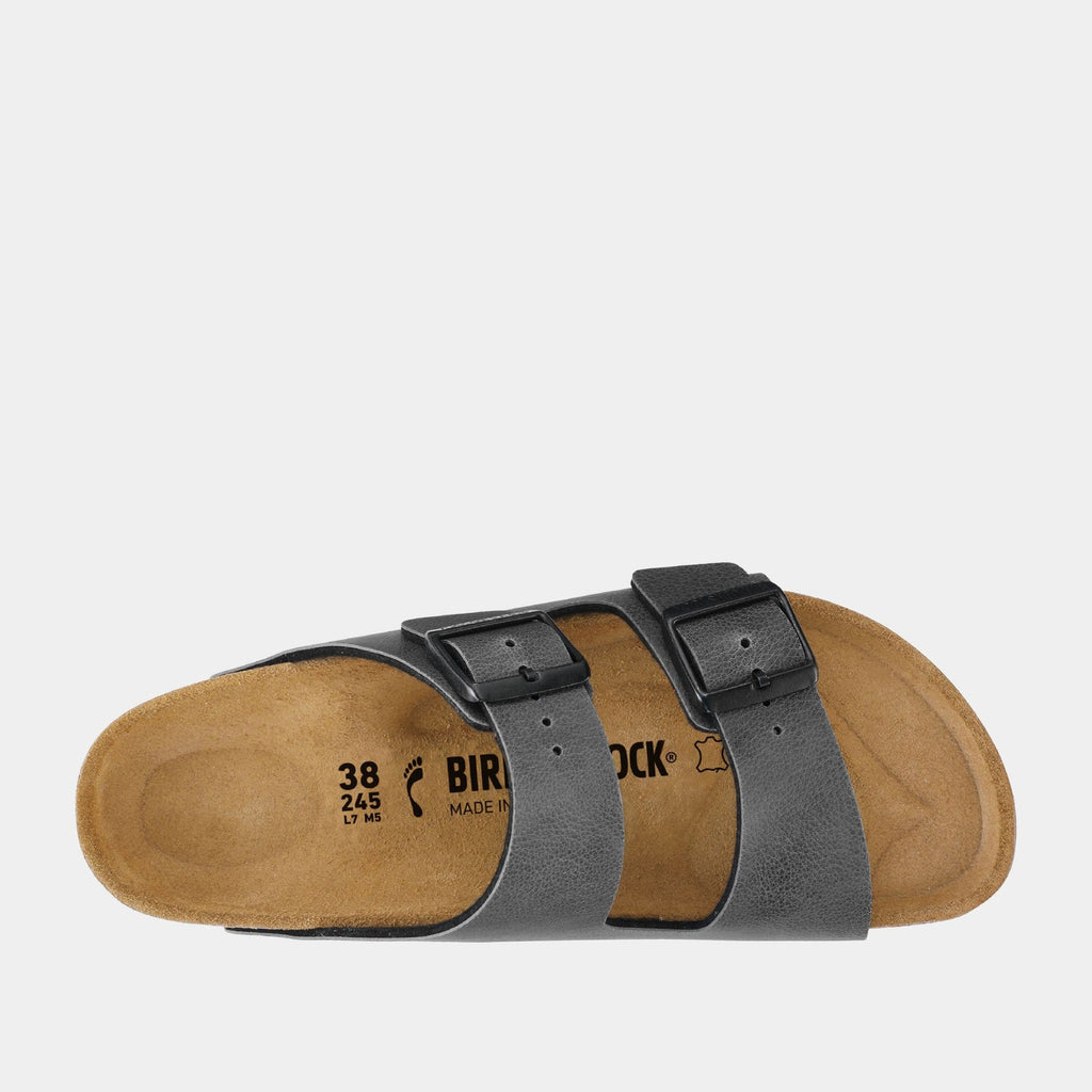 Birkenstock Footwear Arizona BF Pull Up Anthracite 1000127 narrow fit