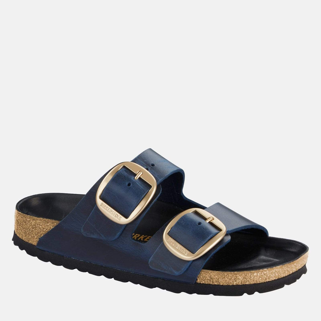 Birkenstock Footwear Arizona Big Buckle Narrow Fit Blue 1014247