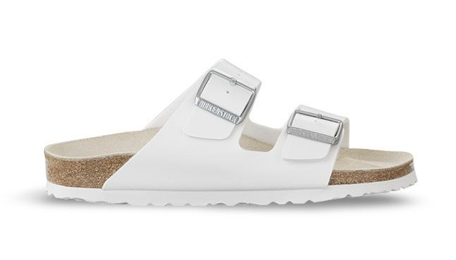 Birkenstock Footwear UK 3.5 / EU 36 / US 5-5.5 / White Arizona Birko-Flor - White (51733) NARROW WIDTH