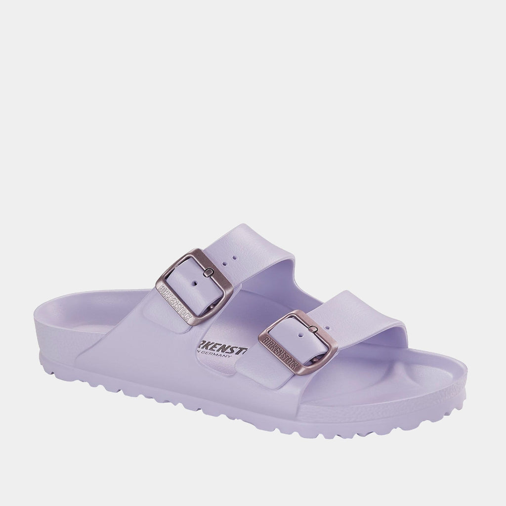Birkenstock Footwear Arizona EVA Beach Purple Fog 1017046 narrow fit