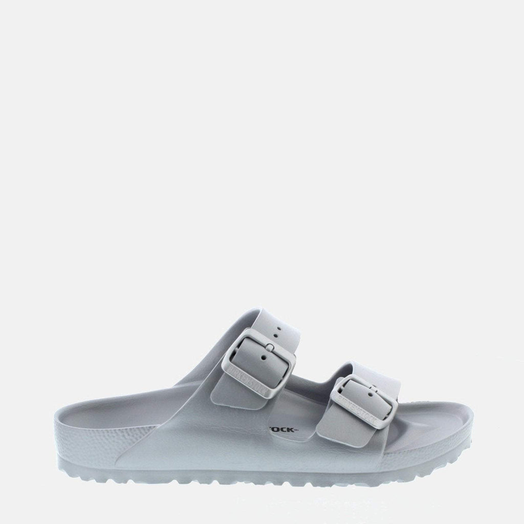 Birkenstock Footwear UK 3.5 / EU 36/ US 5-5.5 / Silver Arizona EVA Narrow Fit Metallic Silver 1003491 -  Birkenstock Ladies Silver Waterproof Flat Summer Sandals