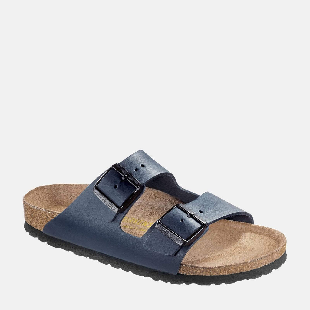 Birkenstock Footwear Arizona Narrow Fit Blue Smooth Leather 51153