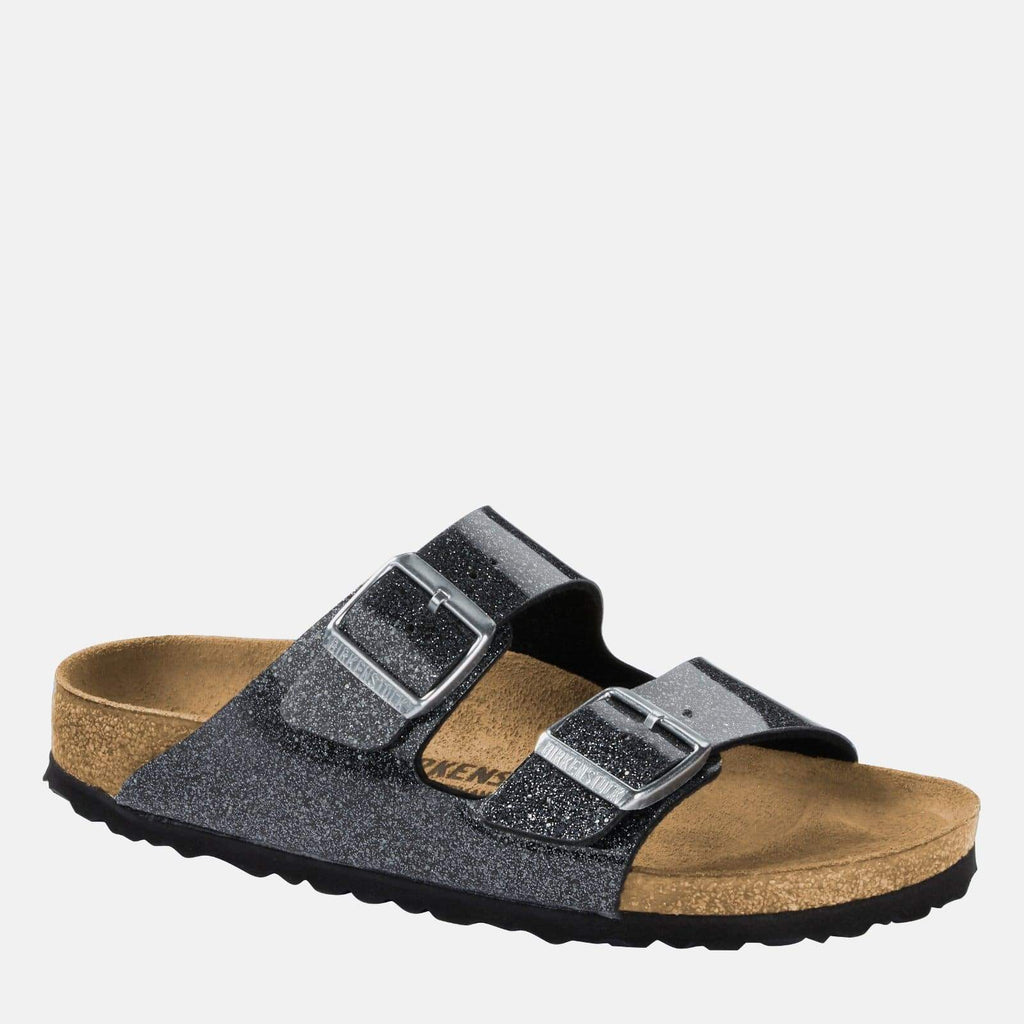 Birkenstock Footwear Arizona Narrow Fit Cosmic Sparkle Anthracite 1014385