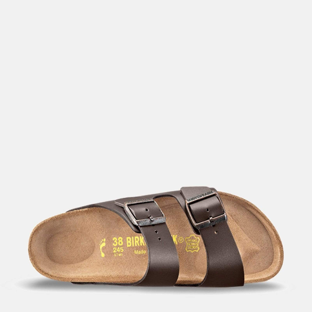 Birkenstock Footwear Arizona Narrow Fit Dark Brown Smooth Leather 51103