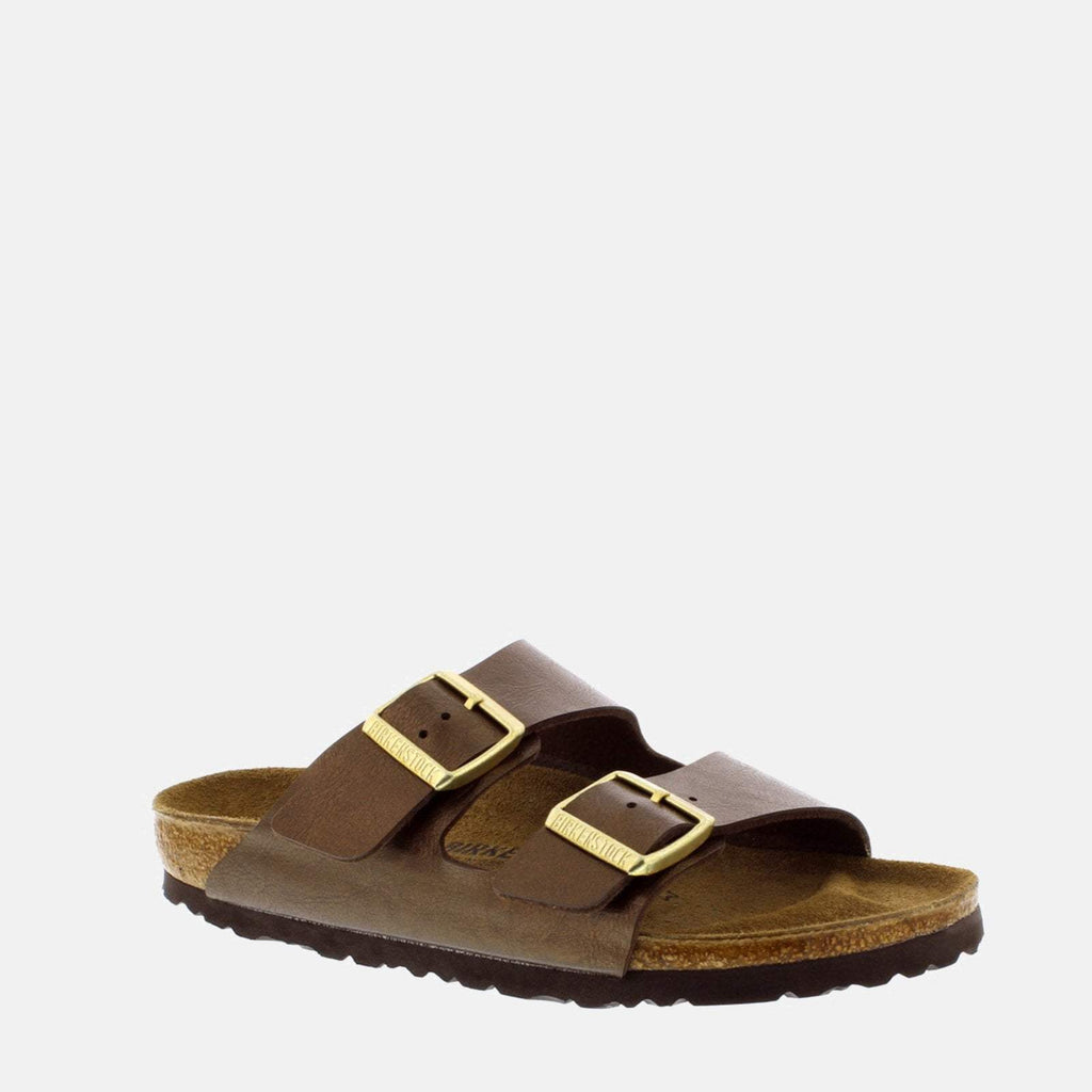 Birkenstock Footwear UK 3.5 / EU 36/ US 5-5.5 / Brown Arizona Narrow Fit Graceful Toffee 1009919 - Birkenstock Ladies Flat Summer Brown Sandals
