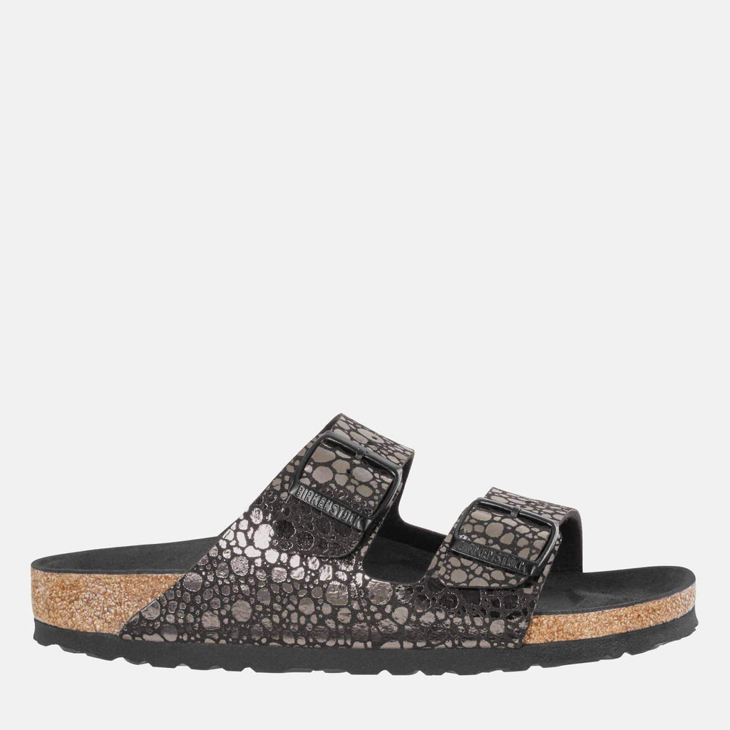 Birkenstock Footwear Arizona Narrow Fit Metallic Stones Black 1008872