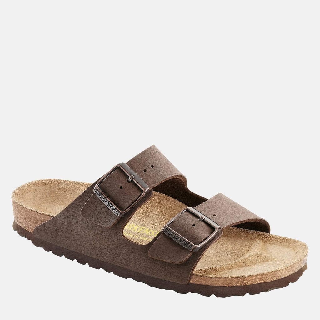 Birkenstock Footwear UK 3.5 / EU 36/ US Women's 5-5.5 / Brown Arizona Narrow Fit Mocca 151183 -  Birkenstock Ladies Brown Flat Summer Sandals