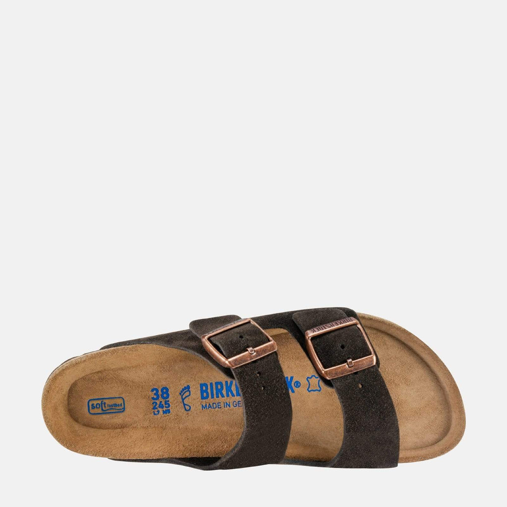 Birkenstock Footwear Arizona Narrow Fit Mocha Suede 951313