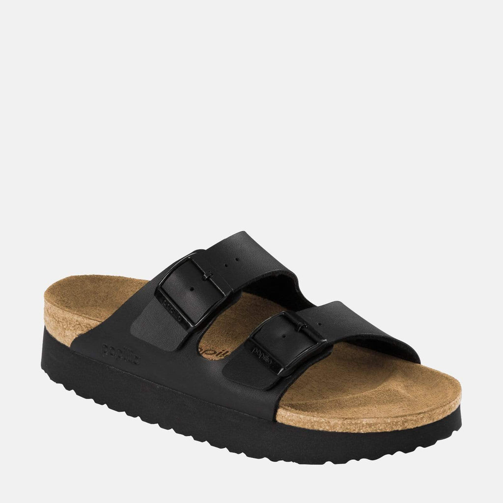 Birkenstock Footwear Arizona Platform Narrow Fit Black 1013577