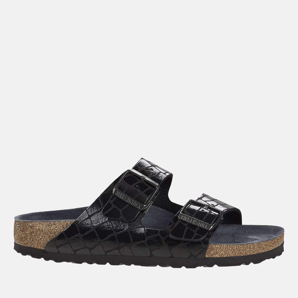 Birkenstock Footwear Arizona Regular Fit Gator Gleam Black 1016044