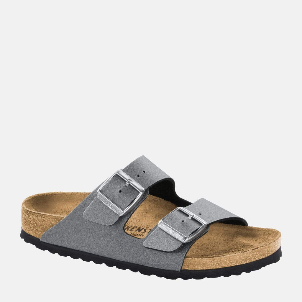 Birkenstock Footwear Arizona Regular Fit Icy Metallic Anthracite 1014284