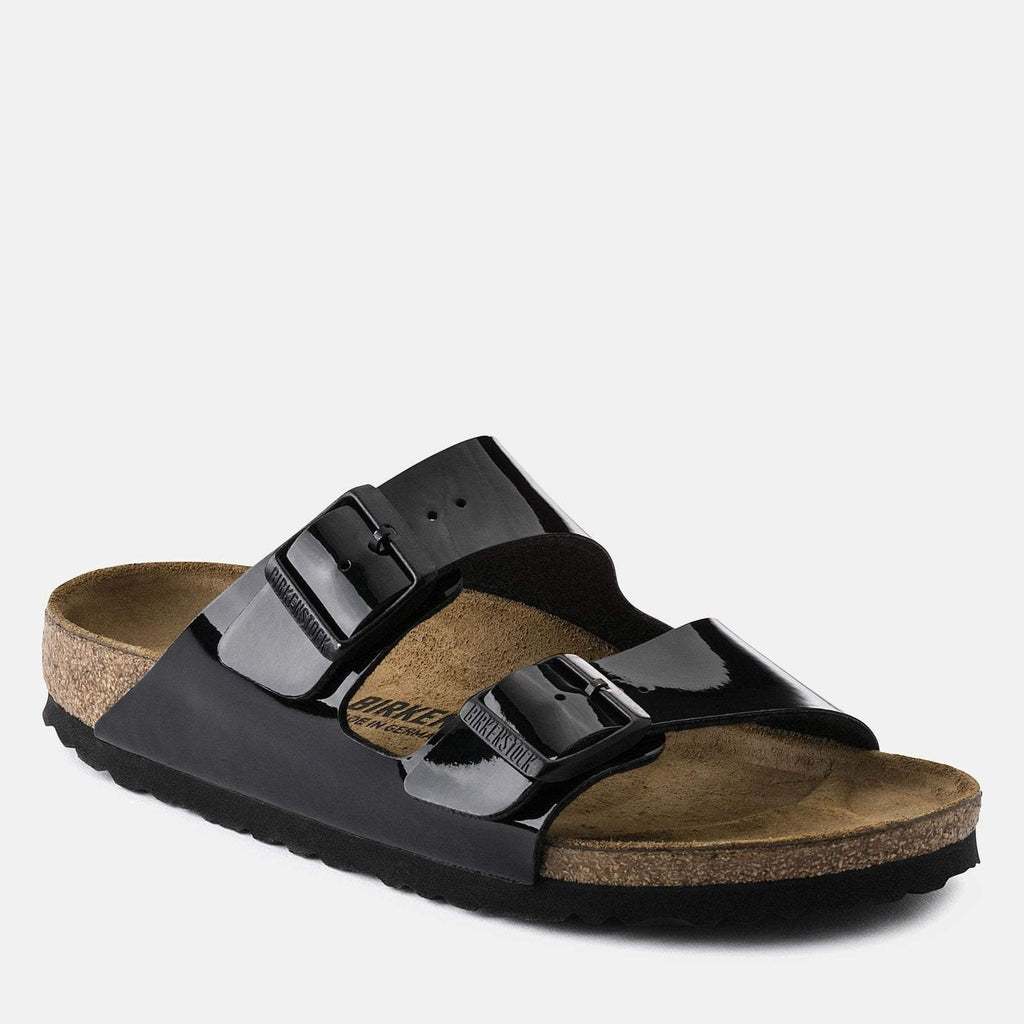 Birkenstock Footwear UK 7 / EU 40 / US 9-9.5 / Black Arizona Regular Fit - Lack Black 1005291