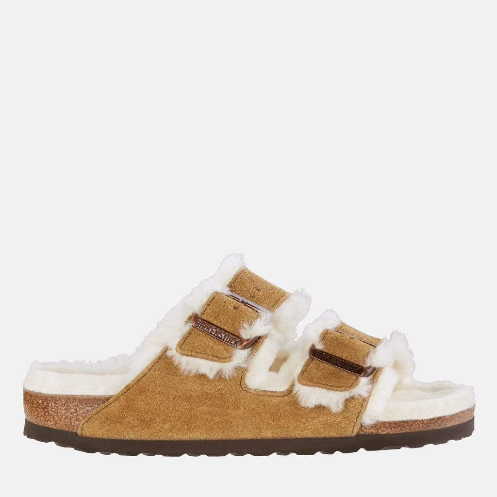 Birkenstock Footwear Arizona Shearling Narrow Fit Mink 1001135
