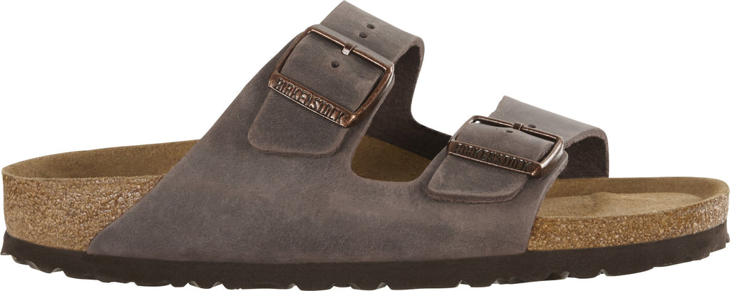 Birkenstock Footwear UK 3.5 / EU 36 / US 5-5.5 / Habana Arizona Soft Footbed Oiled Nubuck Leather - Habana (452763) NARROW WIDTH