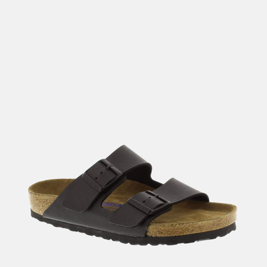 Birkenstock Footwear UK 3.5 / EU 36/ US Women's 5-5.5 / Black Arizona Soft Footbed Regular Fit Black 551251 - Birkenstock Ladies Black Flat Summer Black Sandals
