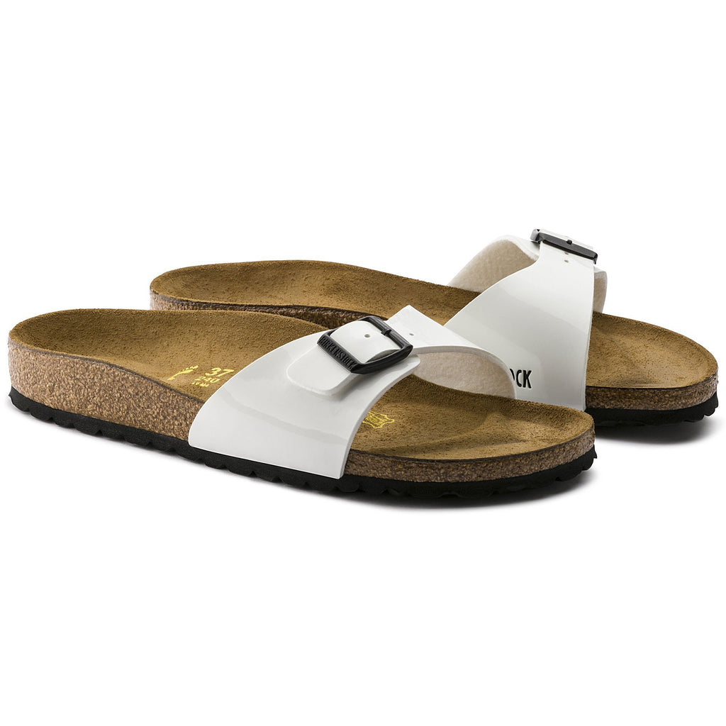 Birkenstock Footwear UK 5.5 / EU 39 / US 8-8.5 / White child-78380 Madrid Regular Fit - White Patent 240861