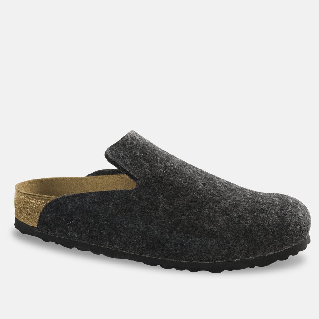 Birkenstock Footwear UK 7.5 / EU 41 / US 8-8.5 / Anthracite Davos Wool Felt - Anthracite (1011220) REGULAR WIDTH
