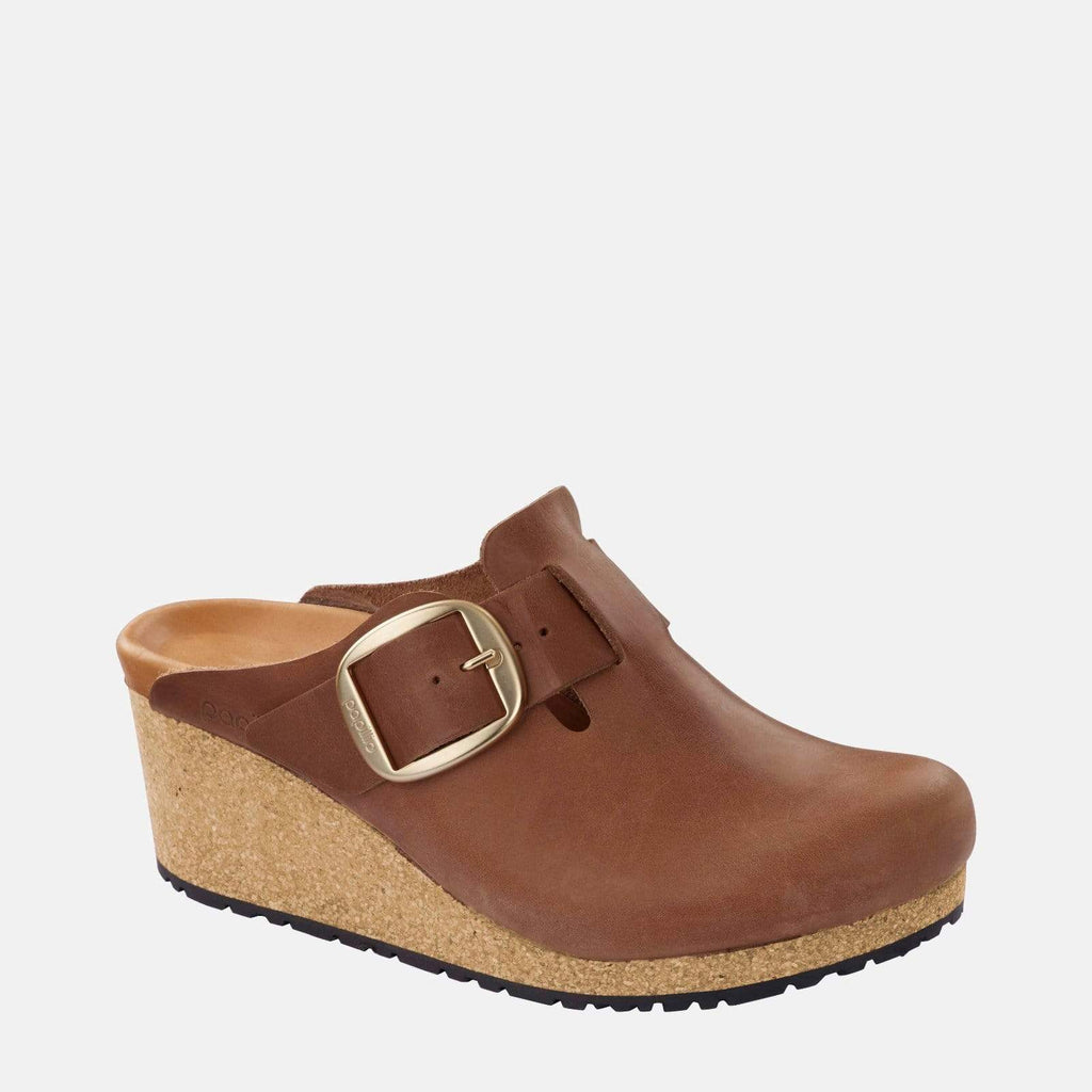 Birkenstock Footwear Fanny Big Buckle Narrow Fit Cognac 1014878