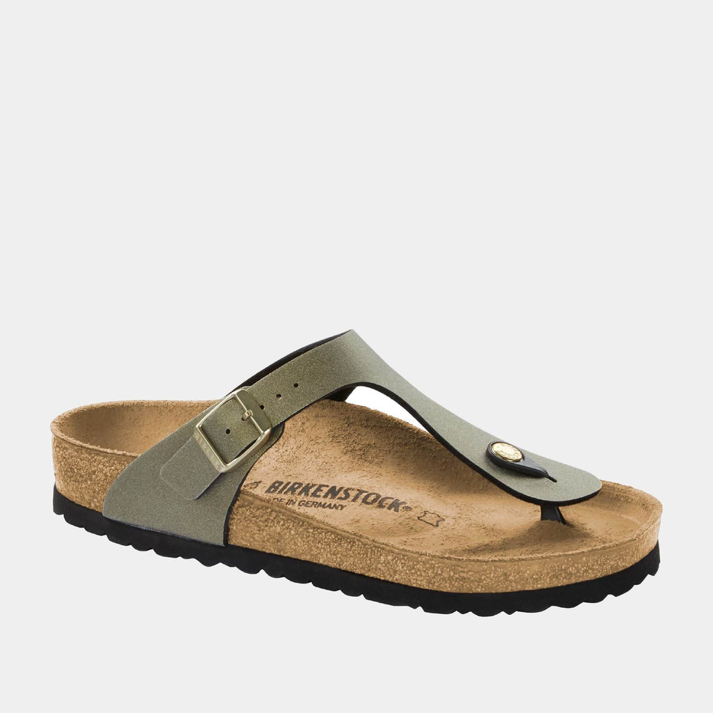 Birkenstock Footwear Gizeh BF Icy Metallic Stone Gold 1014286 regular fit