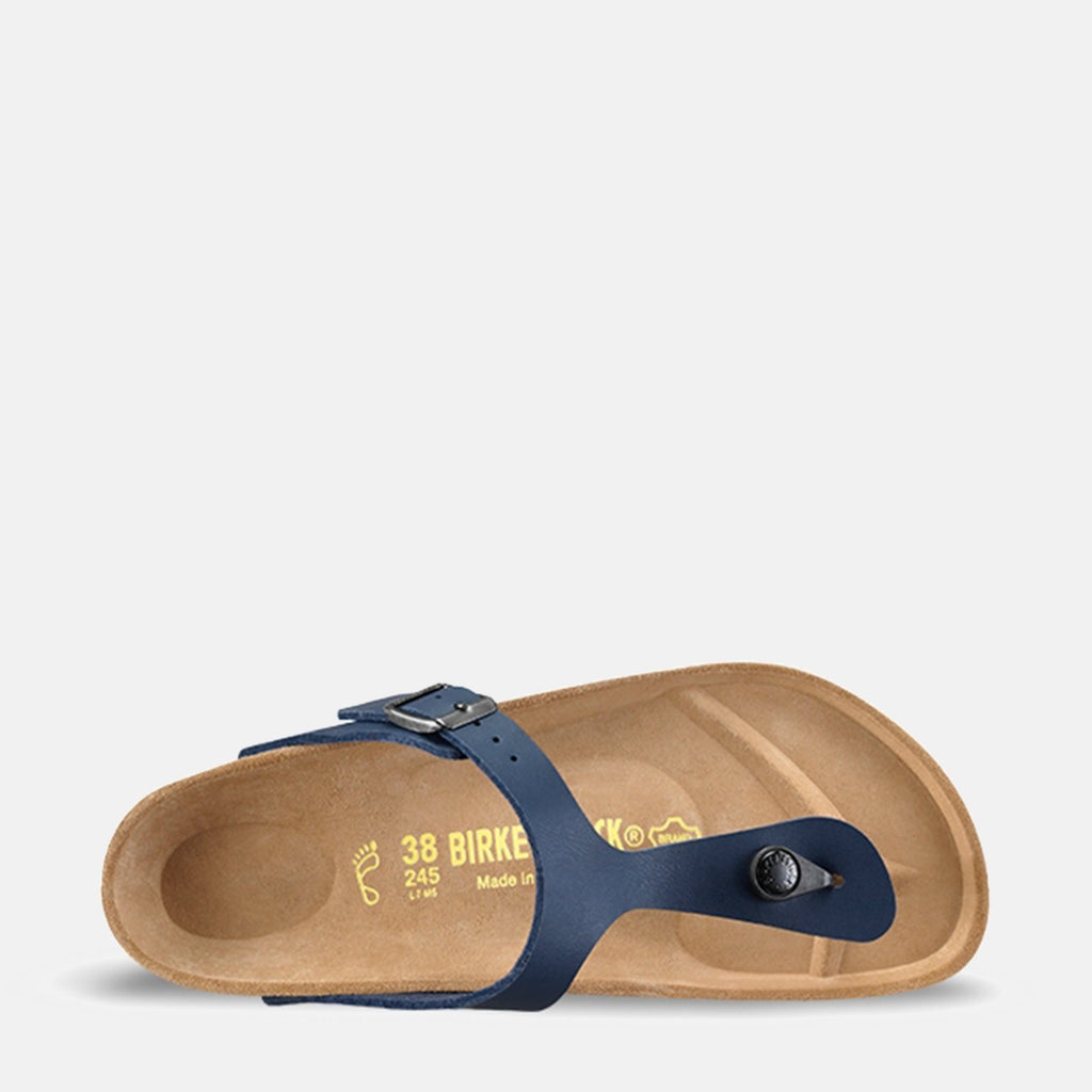 Birkenstock Footwear UK 3.5 / EU 36/ US 5-5.5 / Blue Gizeh Regular Fit Blue 143621 - Birkenstock Ladies Blue Toe Post Summer Sandals