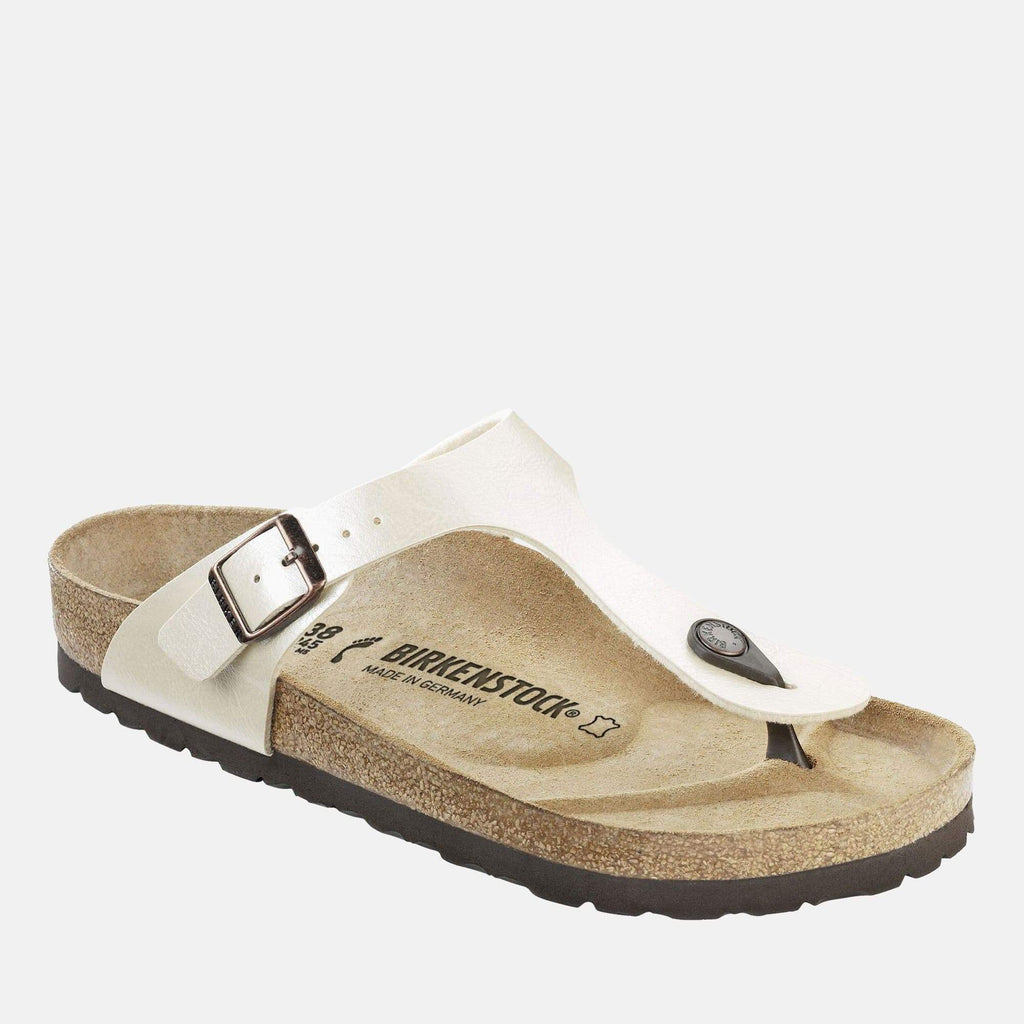 Birkenstock Footwear Gizeh Regular Fit Graceful Pearl White 943871